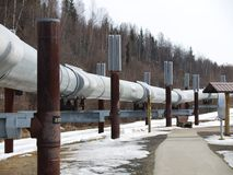 Pipeline views Royalty Free Stock Images