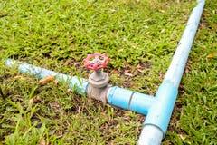 Pipeline water valve Stock Photo