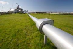 pipelinelagringsbehållare Arkivbilder