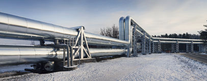 Pipelines Royalty Free Stock Photo