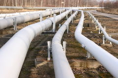 Pipelines Stock Photo