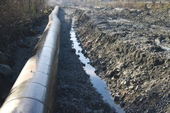 pipelinevatten Royaltyfria Bilder