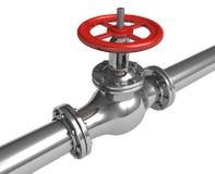 pipelineventil vektor illustrationer