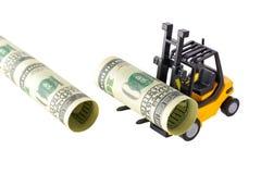 Pipelining денег Стоковые Фотографии RF