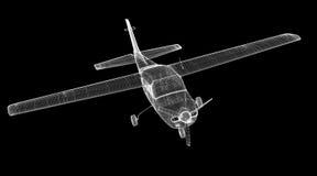 Piper Airplane pequena Imagens de Stock