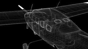 Piper Airplane pequena Fotos de Stock Royalty Free