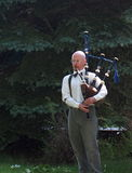 Piper With Bagpipes Stock Photography