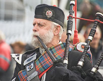 Piper at Braemar. Stock Photography