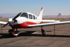 Piper Cherokee - General Aviation Stock Photo