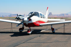 Piper Cherokee - General Aviation Royalty Free Stock Photos