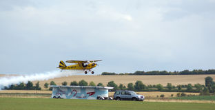 Piper Cub display Royalty Free Stock Image