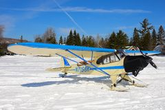 Piper Cub Special Royalty Free Stock Photos