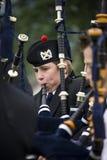 Piper - Highland Games in Scotland Stock Photos
