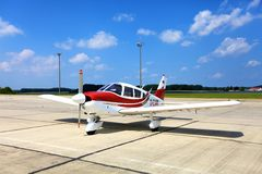Piper PA-28-180 Cherokee F D-EIAM Stock Photos