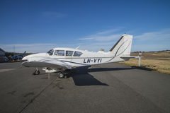 Piper PA-23 royalty free stock photography