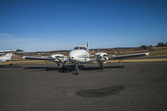 Piper PA-23 stock photography