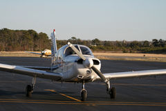 piper pa28 obraz royalty free
