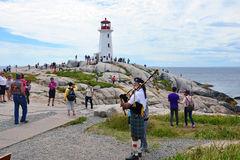 Piper at Peggy's Cove Stock Photography