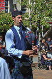 The piper piping Royalty Free Stock Image