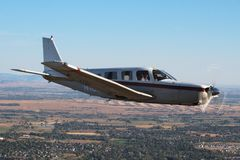 General Aviation - Piper Saratoga Aircraft Royalty Free Stock Image