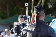 Piper Scottish Highland Gathering Royalty Free Stock Photos