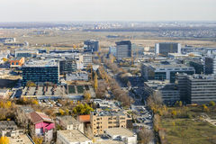 Pipera Floreasca business park in Bucharest. Stock Photo