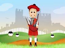 Pipers cartoon Stock Photos