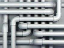 pipes 3D Photos libres de droits