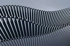 pipes 3d illustration stock