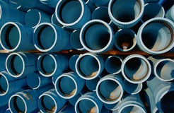 Pipes. Blue weter pipes Royalty Free Stock Images