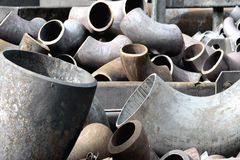 Pipes and bends Stock Photography