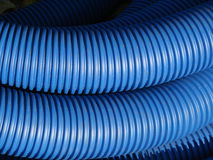 Pipes bleues Images stock