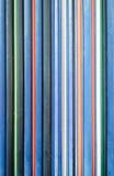 Pipes colorées image stock