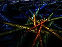 Pipes colorées illustration libre de droits