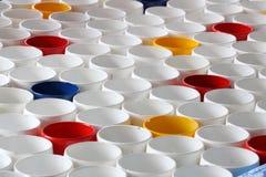 Pipes colorées de PVC Photos libres de droits