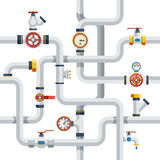 Pipes Concept Illustration Royalty Free Stock Image