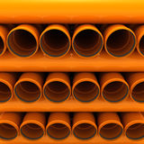 Pipes de canalisation Photos stock
