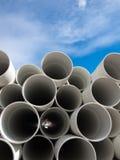 Pipes de PVC Photographie stock