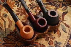 Pipes de tabac découpées d'expert Image libre de droits