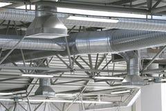 Pipes de ventilation images stock