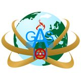 pipes den industriella pipelinen för områdesdetaljgas stålyellow Arkivbilder