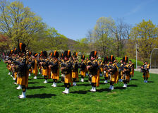 Pipes and Drums performance Stock Photography