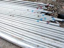 Pipes en acier image stock