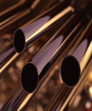 Pipes en acier Image libre de droits