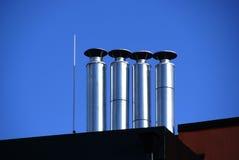 Pipes en métal Photo libre de droits