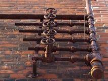 Pipes extérieures Image libre de droits
