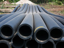 Free Pipes For Water In A Stack Royalty Free Stock Images - 10591929