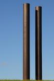Pipes grandes Photographie stock libre de droits