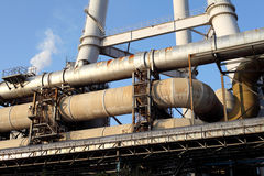 Pipes industrielles photos stock