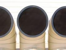 Pipes industrielles Photographie stock libre de droits